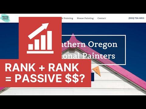 Testing Rank & Rent Website Business Model