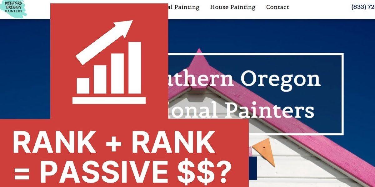 Rank & Rent Website Experiment